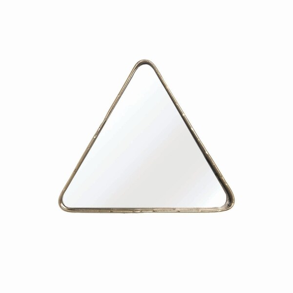 Geo Triangle Table Mirror - Gold - A/N