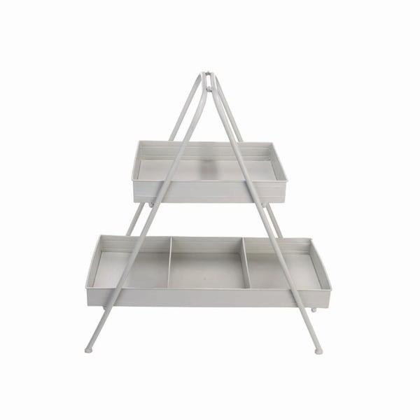 2-Tier Metal Display Stand