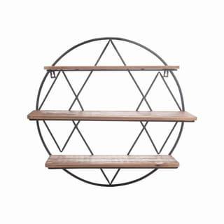 Diamond Round Shelf