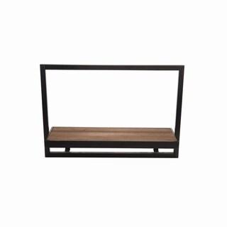 Bradbury Wood/Metal Large Shelf