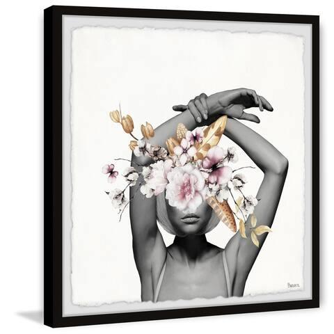Handmade Confident Bloom Framed Print