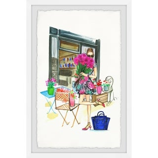 Marmont Hill - Handmade Smell the Flowers II Framed Print