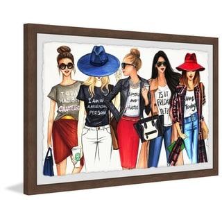 Marmont Hill - Handmade Fashionistas Gotta Have Fun Framed Print
