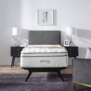 Link to Jenna 14-inch Euro Top Pocket Spring Mattress Similar Items in Hybrid Mattresses