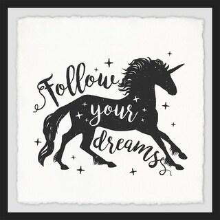 Marmont Hill - Handmade Follow Your Dreams II Framed Print