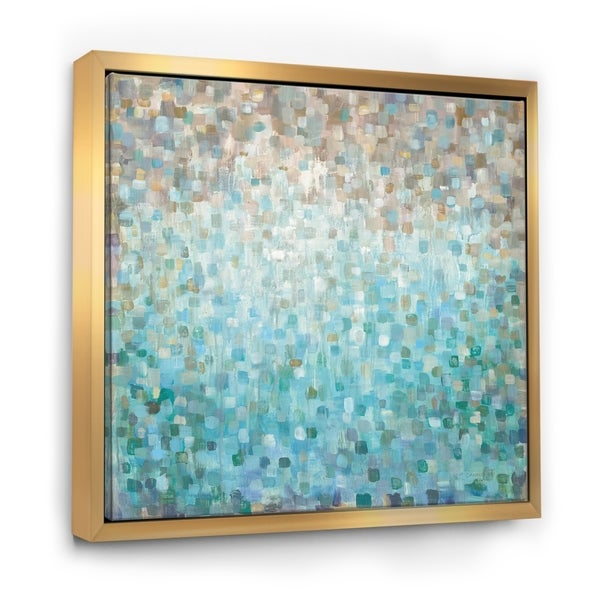 Coastal Abstract Framed Art