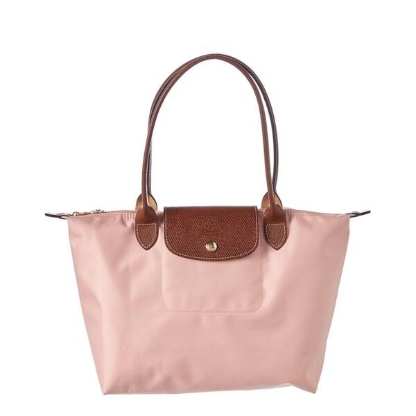 Shop Longchamp Le Pliage Nylon Foldable Shoulder Tote Bag - On Sale ... 1fdda0bb66051