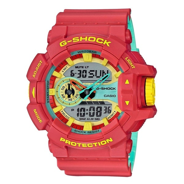 126e751bf283 Shop Casio GA400CM-4A G-Shock Black Dial Watch - Free Shipping Today -  Overstock - 25982391