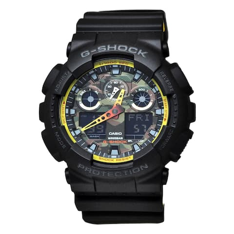 Casio GA100BY-1A G-Shock Camouflage Dial Watch