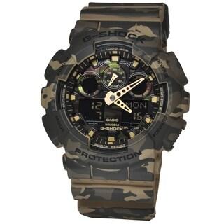 Casio GA100CM-5A G-Shock Camouflage Dial Watch