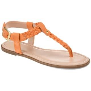 e9c23584e Buy Orange Women s Sandals Online at Overstock