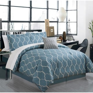 Manhattan Heights Spoletto High-Quality Cotton 8 Piece Bed in a Bag