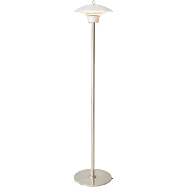Hanover Electric Halogen Infrared Stand Heat Lamp, Silver. Opens flyout.