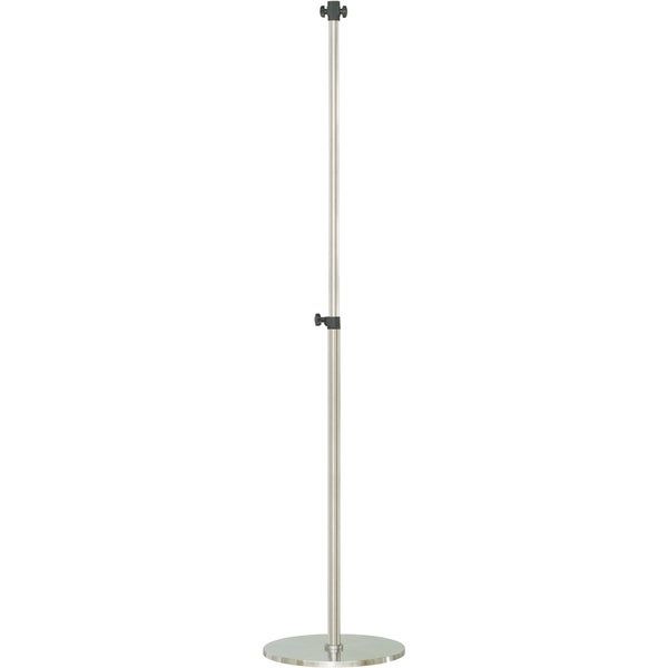 Hanover Height Adjustable Pole Stand for Select Infrared Heat Lamps, Silver