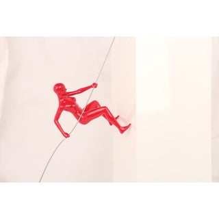 decorative wall climber - Red