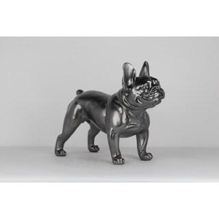 Unique Décor- Dark Gray Bulldog