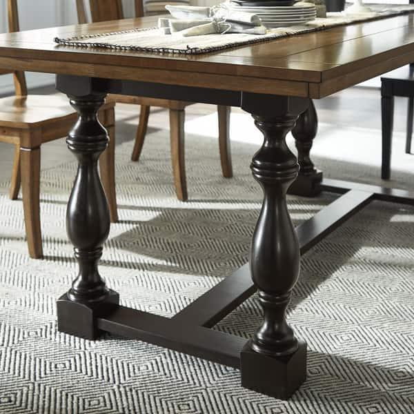 Eleanor 78 Inch Oak Dining Table