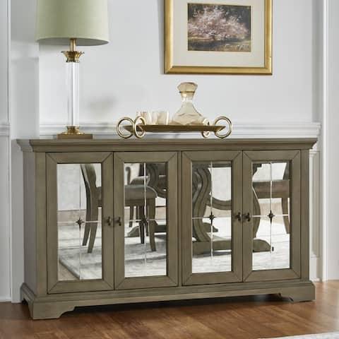 Maizy Antique Mirrored Door Server by iNSPIRE Q Artisan