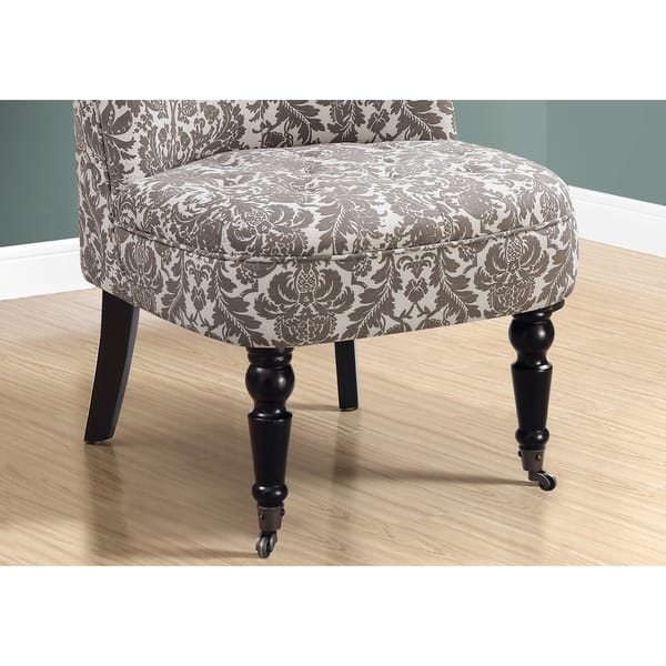Surprising Shop Accent Chair Traditional Style Taupe Tapestry Free Machost Co Dining Chair Design Ideas Machostcouk