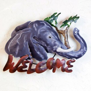Iron 'A Jumbo Welcome' Sign (Mexico)