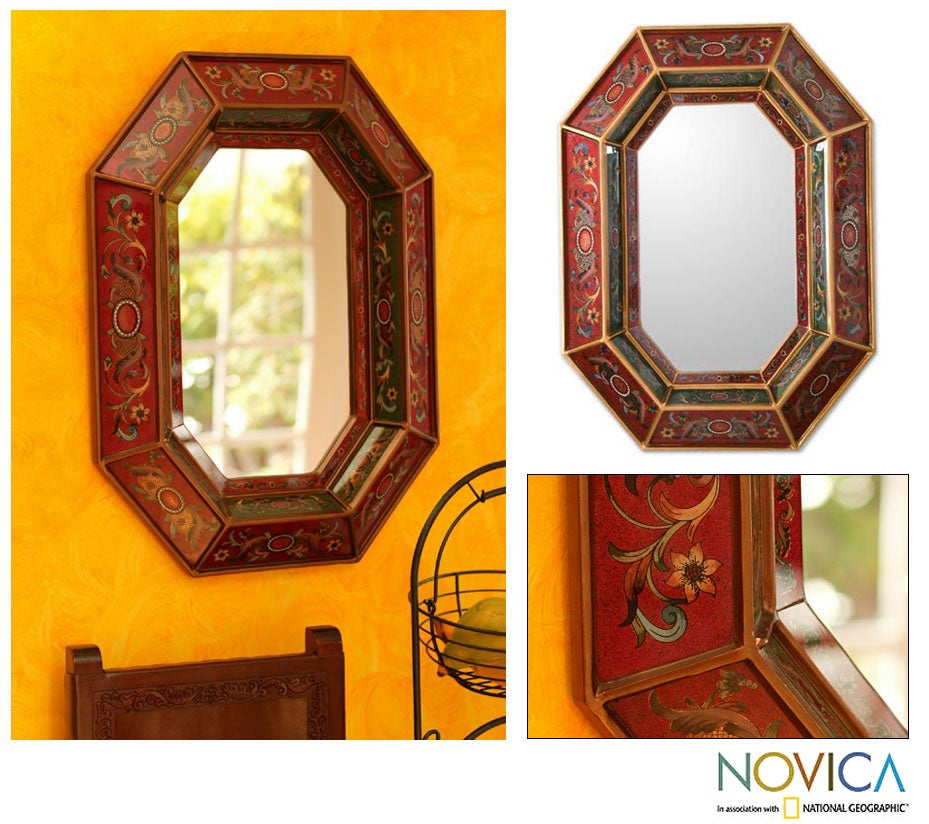 Radiant Lands Handcrafted Mirror (Peru)
