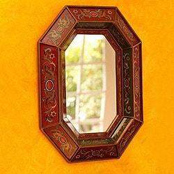 Radiant Lands Handcrafted Mirror (Peru)