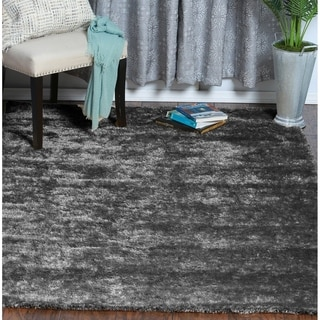 Porch & Den Turnberry Reversible Soft Solid Shag Area Rug