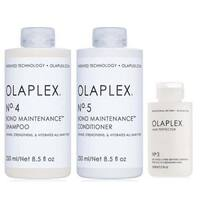 Olaplex No. 4 Shampoo, No. 5 Conditioner & No. 3 Hair Perfector