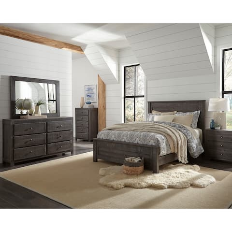 Wheaton King Distressed Headboard