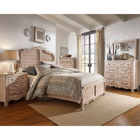 Chatsworth Complete Queen Panel Bed
