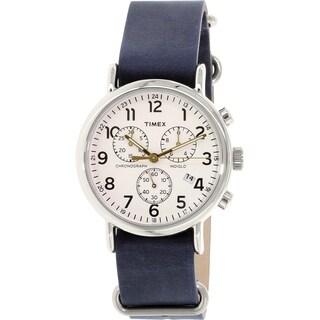 Timex Men's Weekender Chronograph Watch (Blue)