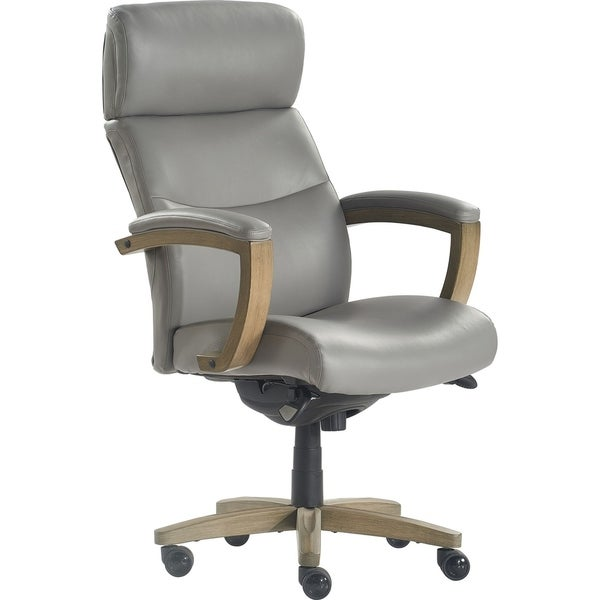 Shop La Z Boy Modern Greyson Executive Office Chair Free Shipping