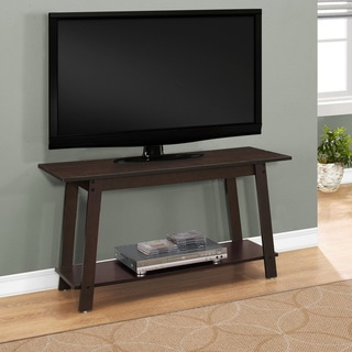 Carbon Loft Kijana Cappuccino Finish 42-inch Long 1-shelf Contemporary TV Stand