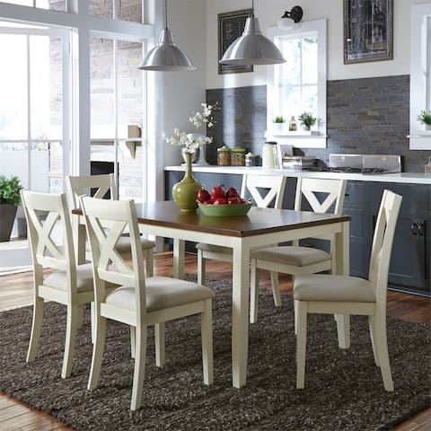 The Gray Barn Hillside 7-piece Rectangular Table Set