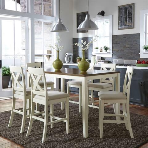The Gray Barn Hillside 7-piece Gathering Table Set