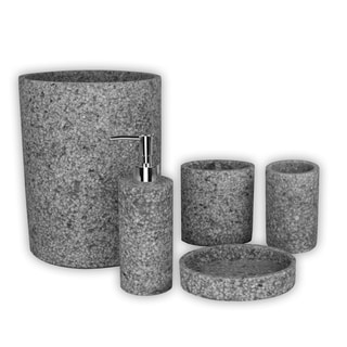 Link to Austin Horn Classics Stoneville Black/Grey Bath Accessory Collection Similar Items in Toothbrush Holders