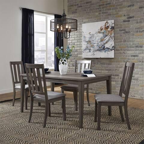 Copper Grove Ignatievo 5-piece Rectangular Table Set