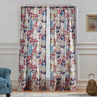 Barefoot Bungalow Perry Window Curtain Panel Pair (set of 2)