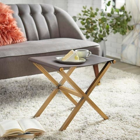 angelo:HOME Thad Glam Stool Ottoman