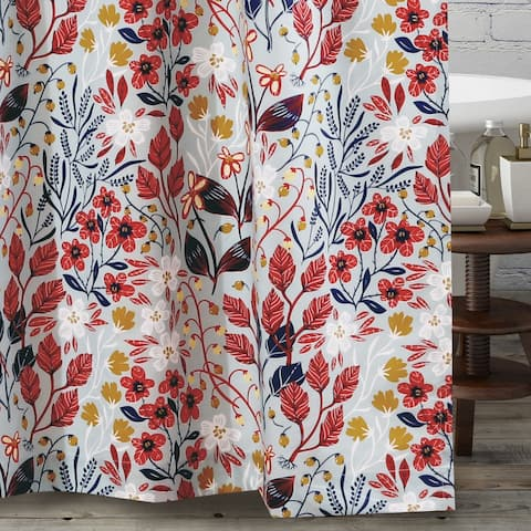 Barefoot Bungalow Perry Shower Curtain