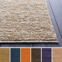 Hand-woven Chapra Jute Fiber Area Rug (3'6 x 5'6) - 3'6 x 5'6