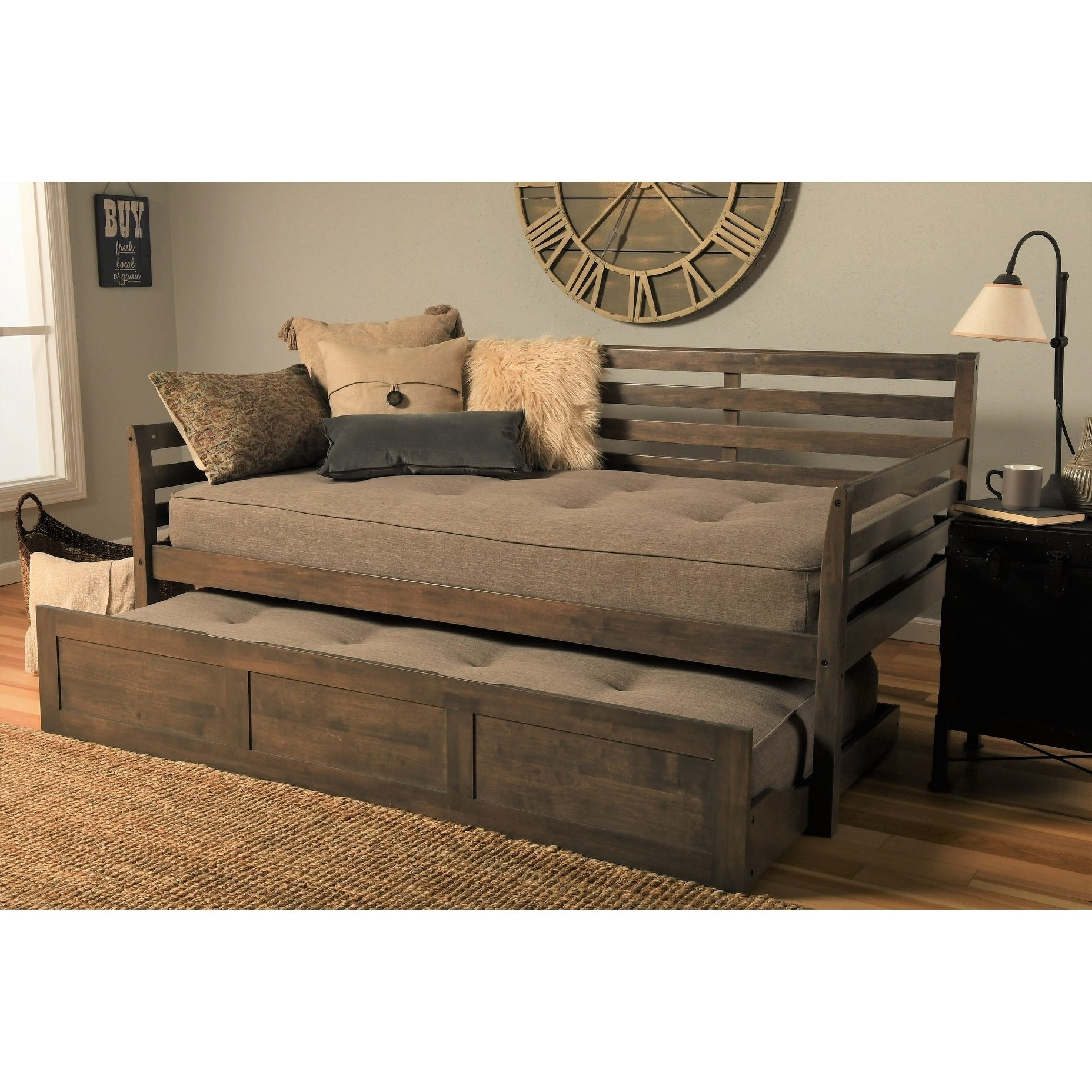 - Shop Copper Grove Kutaisi Daybed/Trundle Bed With Mattresses
