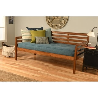 Link to Copper Grove Kutaisi Daybed with Linen Aqua Mattress Similar Items in Bedroom Furniture