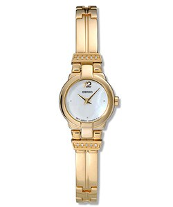 Seiko Women's Aria Goldplated Quartz Watch
