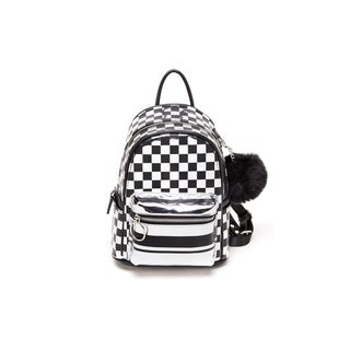 Like Dreams Metalic/Gold Checkered Backpack