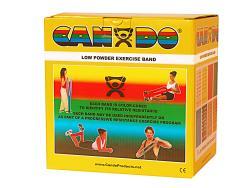 Cando Low-powder 50-yard Gold XXX-heavy Exercise Band - Thumbnail 1