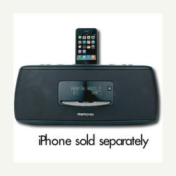 Memorex MI9490PBLK Portable CD Boombox With IPod Dock