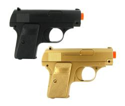 Double Eagle Twin P328 Spring Pocket Airsoft Guns - Thumbnail 1