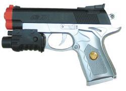 Lethal Weapon 150 Red Dot Laser Spring Airsoft Gun - Thumbnail 1