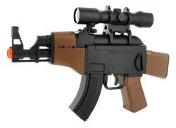 Mini Electric AK47 FPS-150 Airsoft Gun - Thumbnail 1